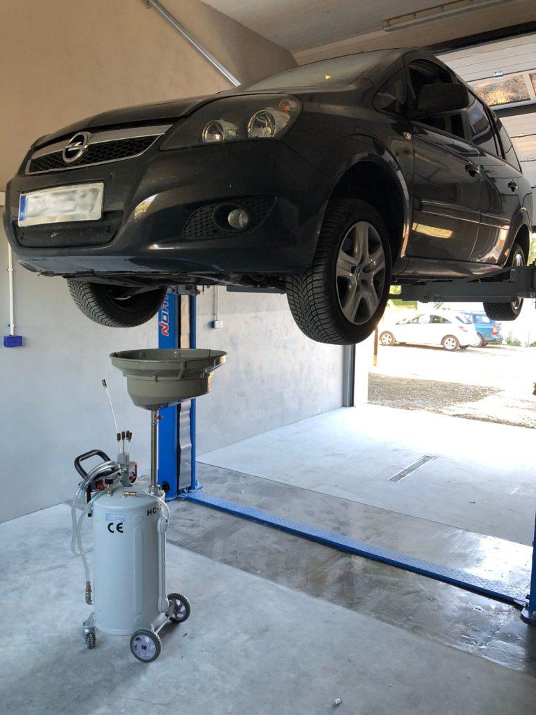 electro auto wymiana oleju